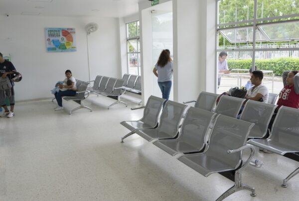 Sala de espera do hospital