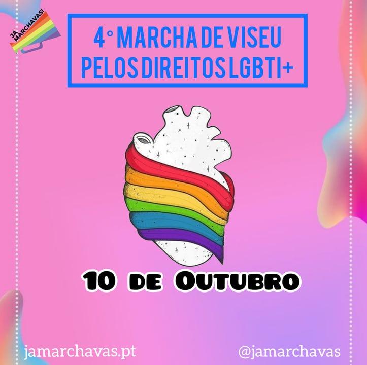 Marcha LGBTI+ Viseu 2021