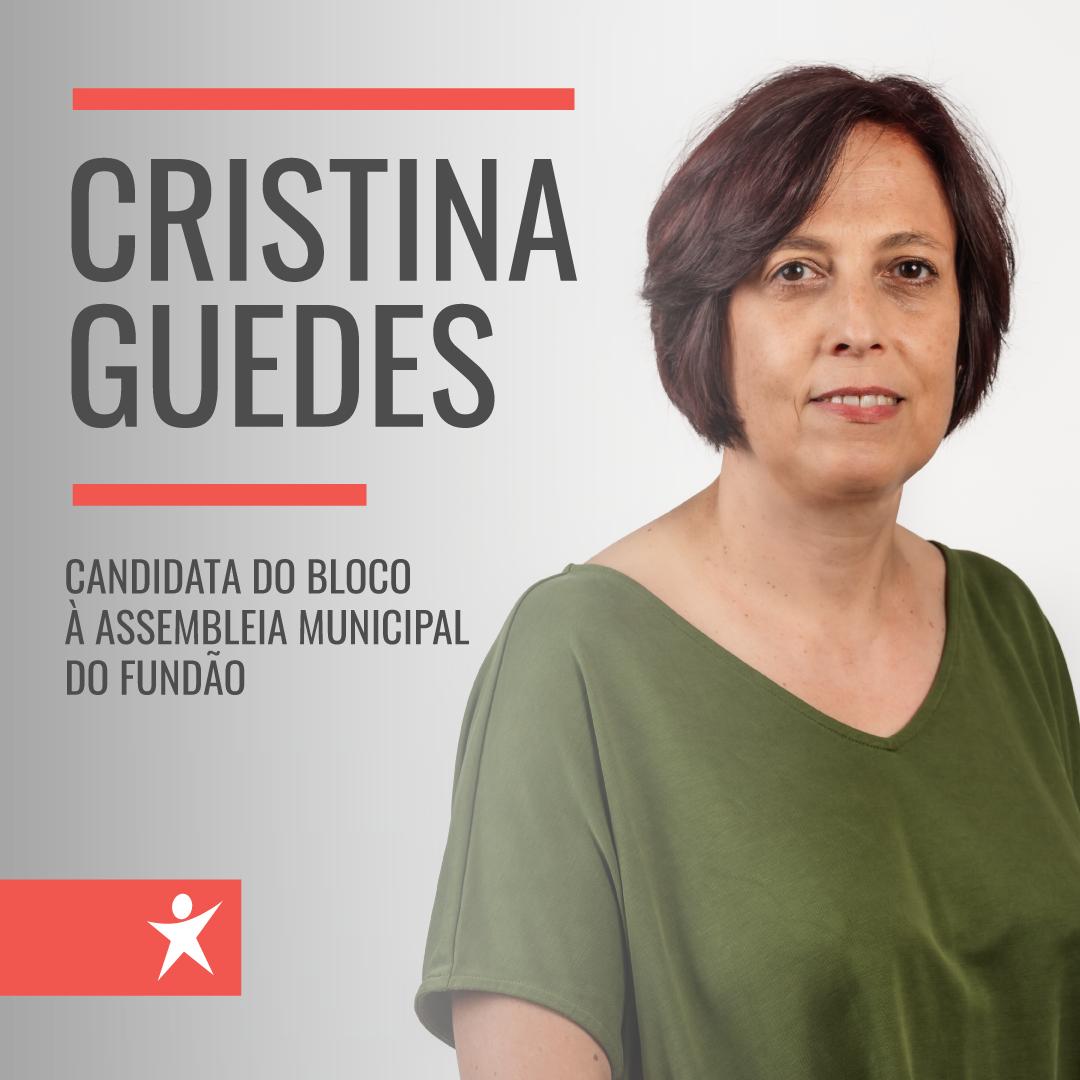 Fundão: Cristina Guedes é a candidata do Bloco à Assembleia Municipal