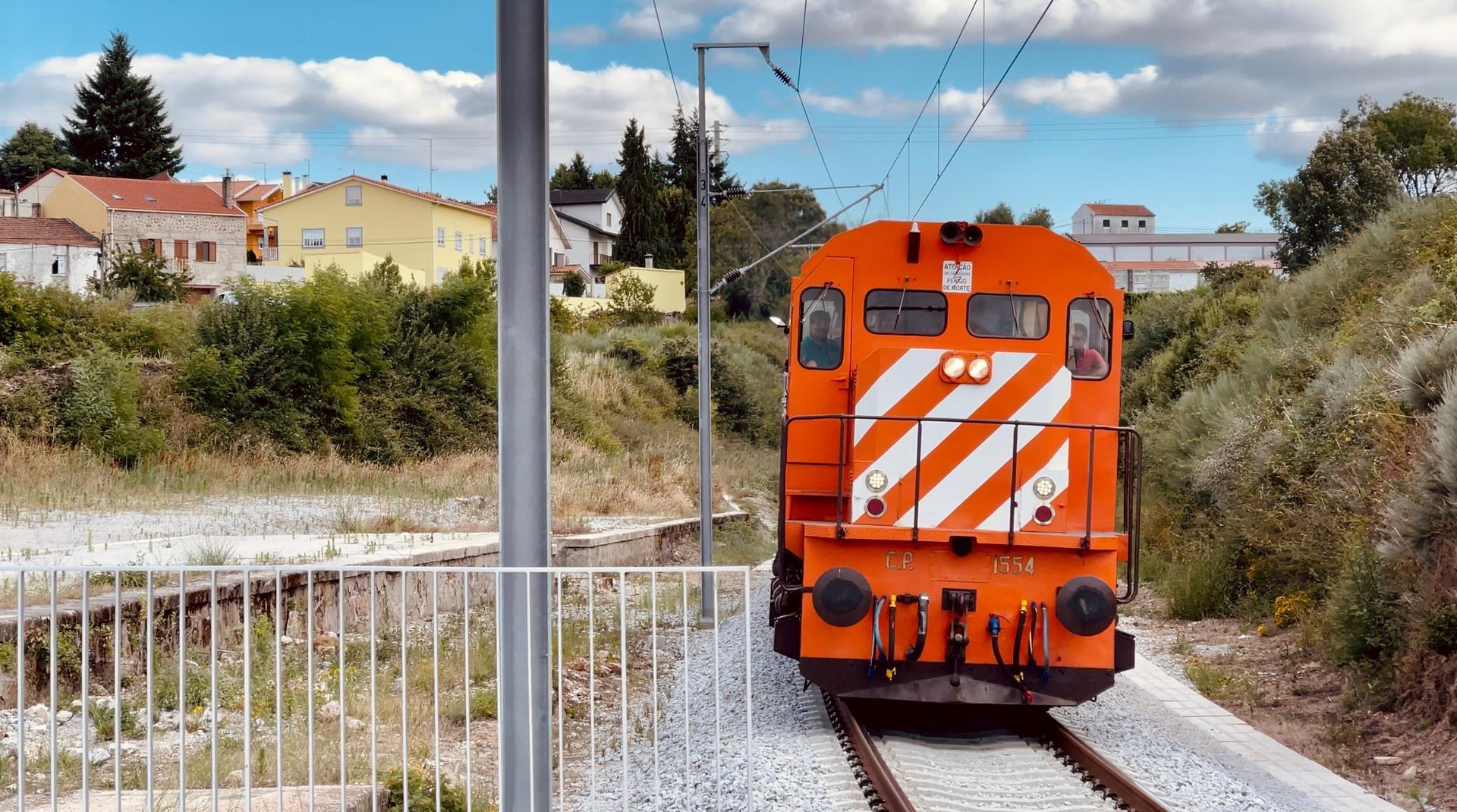 O regresso do comboio à Linha da Beira Baixa Covilhã/Guarda