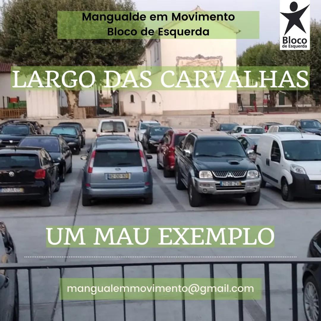 """Mangualde: requalificação do Largo das Carvalhas é a """"imagem de um urbanismo cinzento"""""""