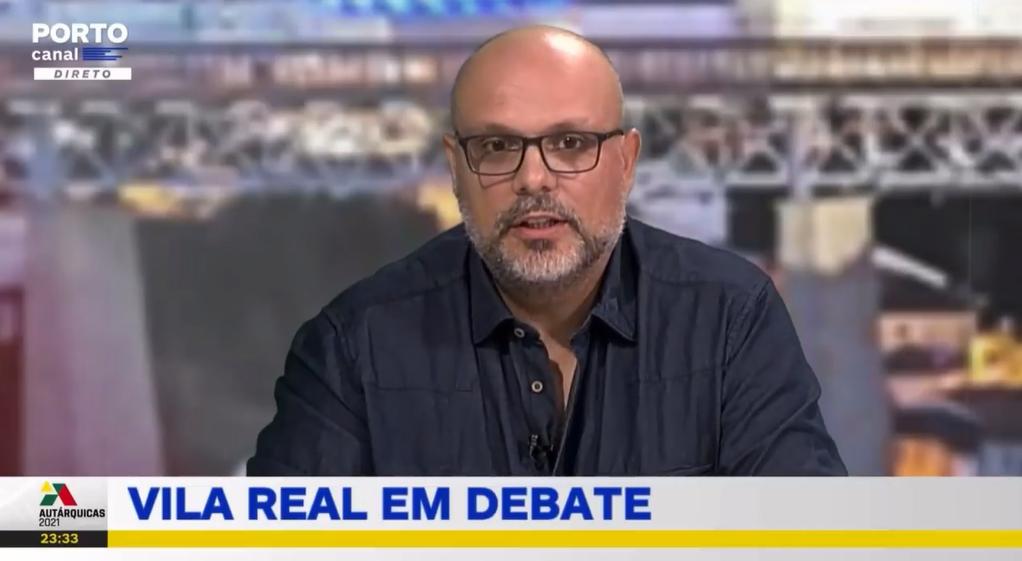 Luís Santos no Debate de Vila Real no Porto Canal