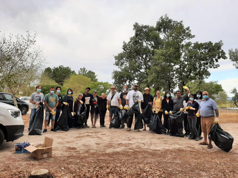 Acção de limpeza da barragem de Sta. Águeda/Marateca foi um sucesso