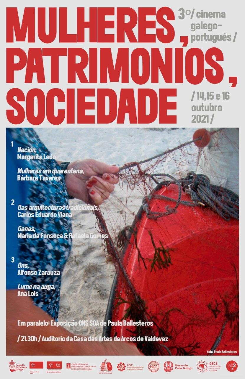 """""""Mulheres, Património, Sociedade"""" é o tema da 3ª edição do Ciclo de Cinema Galego-Português"""