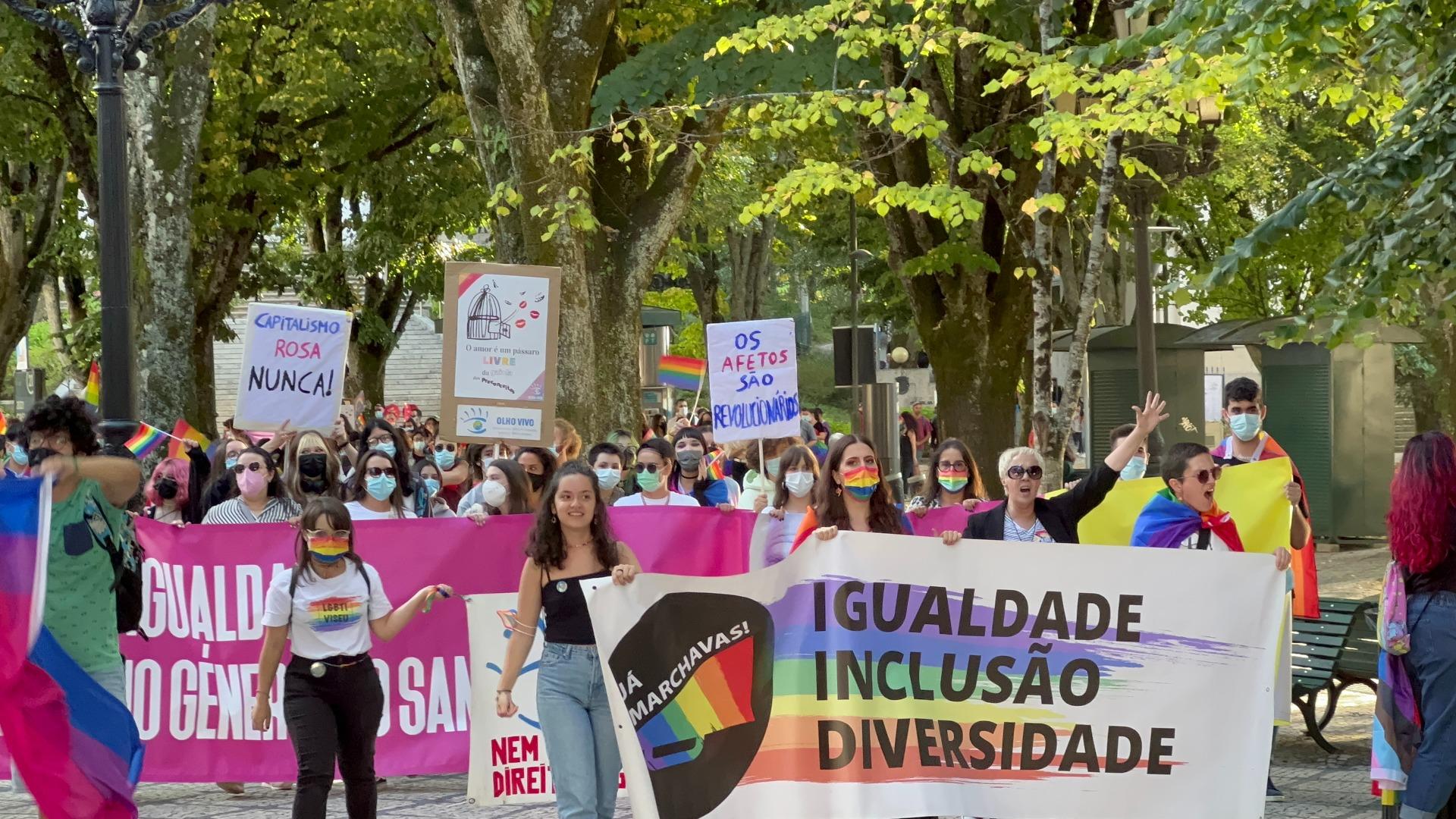 Viseu encerra calendário das Marchas LGBTQIA+ com forte mobilização